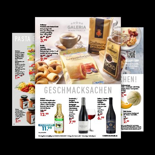 Prospekt: Lebensmittel-Angebote der aktuellen Woche
