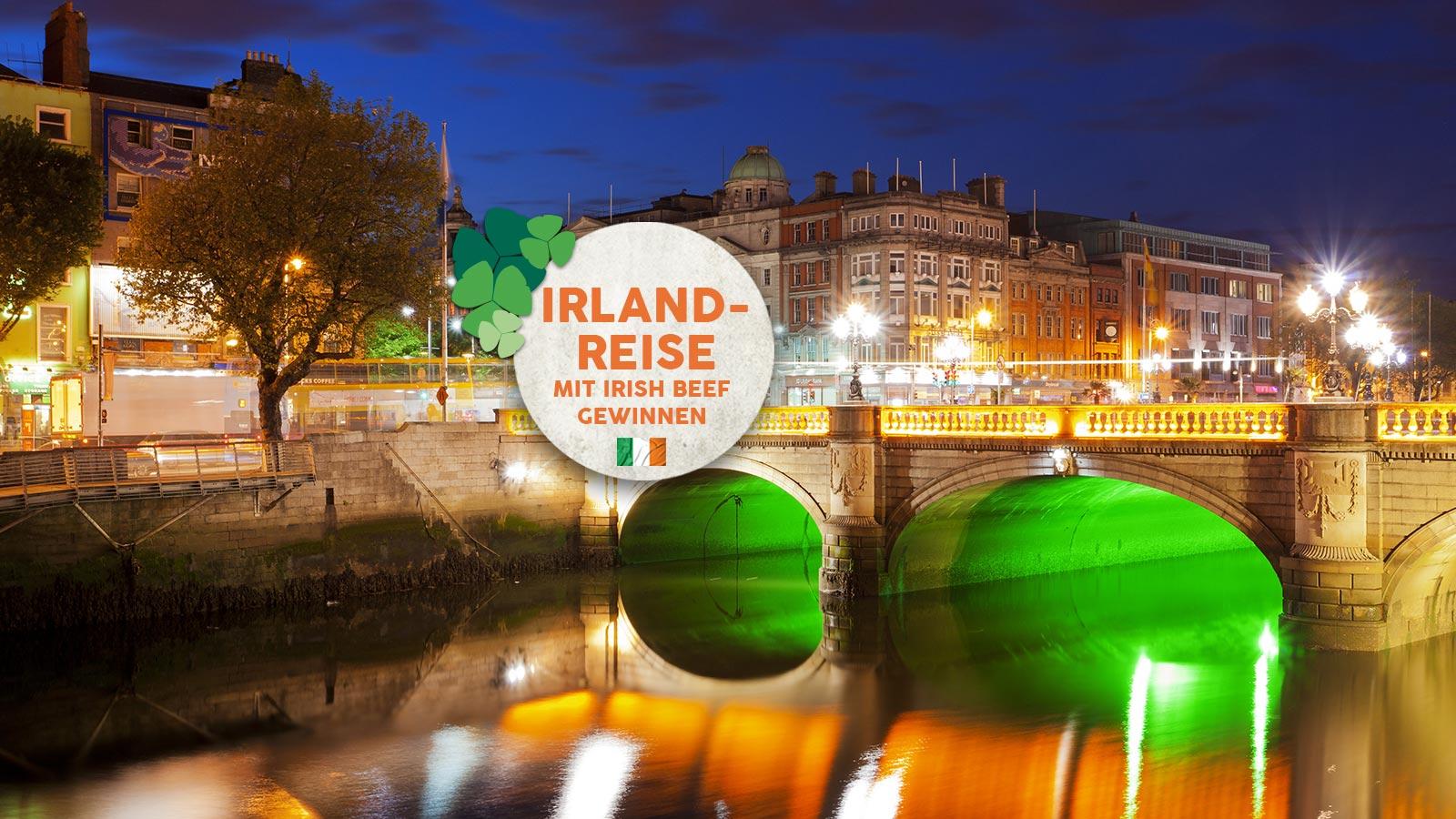 Gewinnen Sie eine Irland Reise mit Karstadt Lebensmittel und Irish Beef